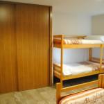 Literas y armario. Wardrobe and bunkbeds.